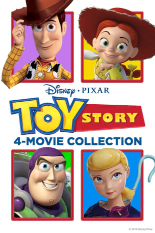 movie poster for Toy Story Collection