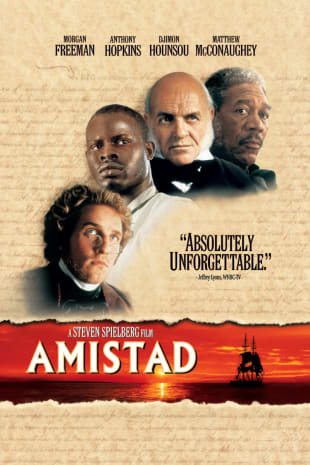 movie poster for Amistad