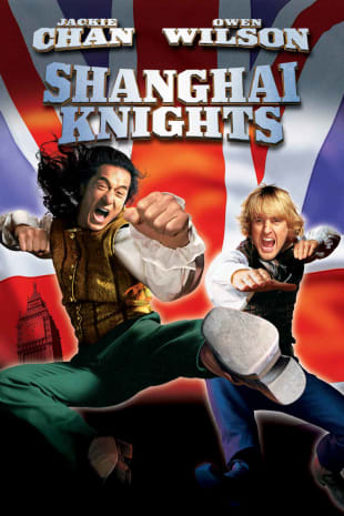 movie poster for Shanghai Knights