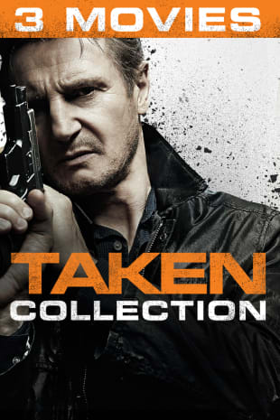 movie poster for Taken Trilogy