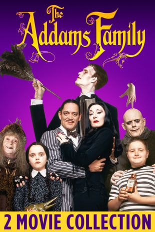 movie poster for Addams Family Movie Bundle