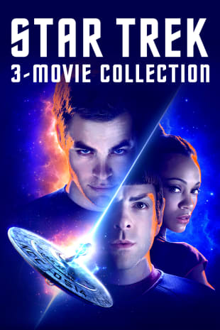 movie poster for Star Trek 3 Movie Collection