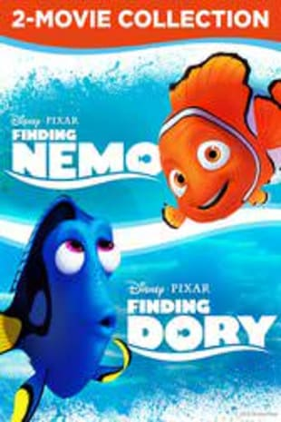 movie poster for Finding Dory / Finding Nemo Bundle