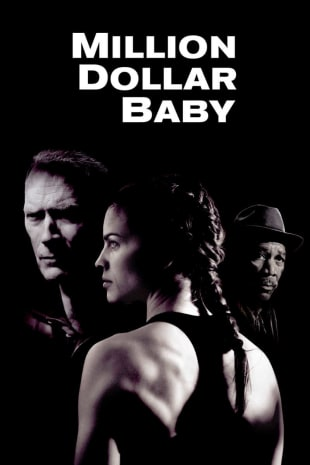 movie poster for Million Dollar Baby