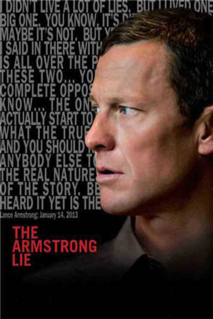 movie poster for The Armstrong Lie