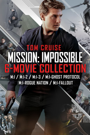 movie poster for Mission Impossible 6-Movie Bundle