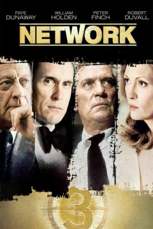 movie poster for Network (1976)