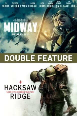 movie poster for Midway / Hacksaw Ridge - Double Feature