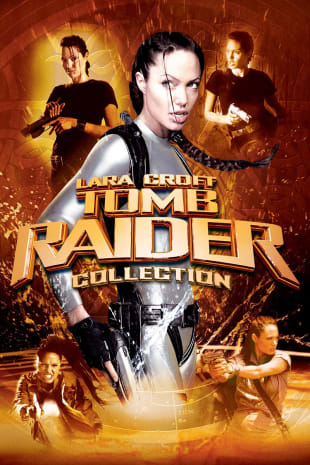 movie poster for Lara Croft: Tomb Raider Double Feature