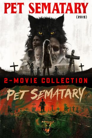 movie poster for Pet Sematary (1989) + Pet Sematary (2019)