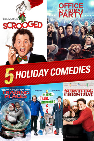 movie poster for 5 Holiday Comedies Collection