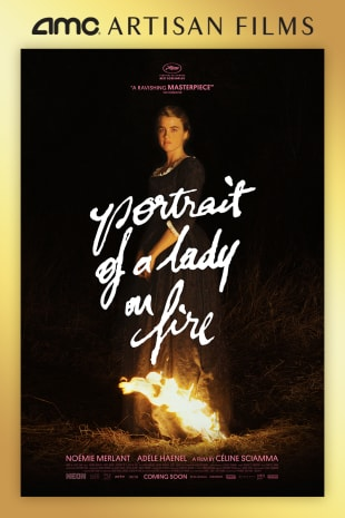 movie poster for Portrait Of A Lady On Fire