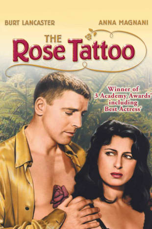 movie poster for The Rose Tattoo
