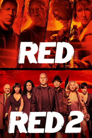 movie poster for Red / Red 2 - Double Feature
