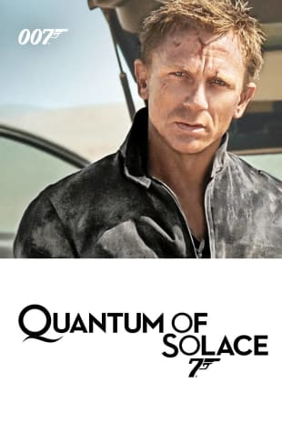 movie poster for Quantum Of Solace