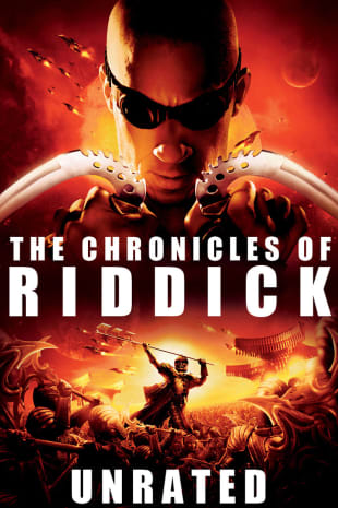 movie poster for The Chronicles of Riddick - Unrated Director's Cut