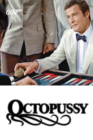 movie poster for Octopussy