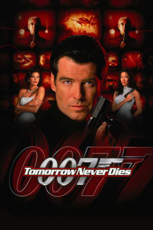 movie poster for Tomorrow Never Dies