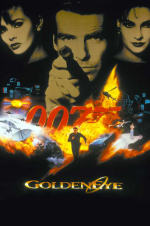 movie poster for Goldeneye