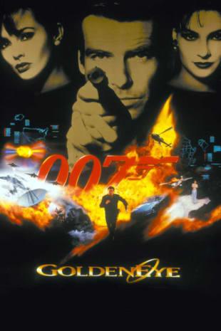 movie poster for Goldeneye