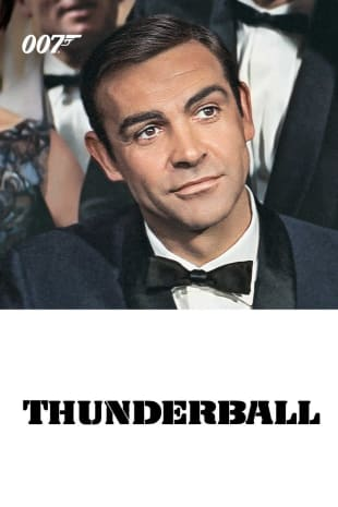 movie poster for Thunderball