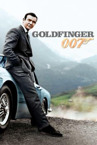 movie poster for Goldfinger