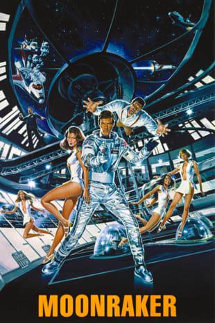 movie poster for Moonraker