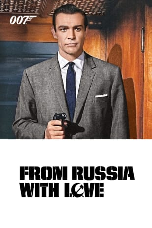 movie poster for From Russia With Love