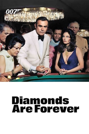 movie poster for Diamonds Are Forever