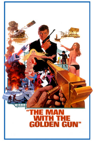 movie poster for The Man With The Golden Gun