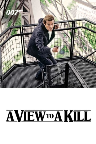 movie poster for A View To a Kill