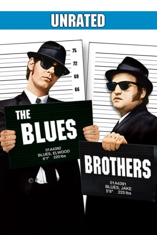 movie poster for The Blues Brothers - Unrated