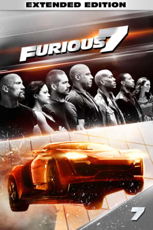 movie poster for Furious 7 - Extended, Unrated Edition