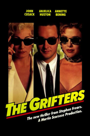 movie poster for The Grifters