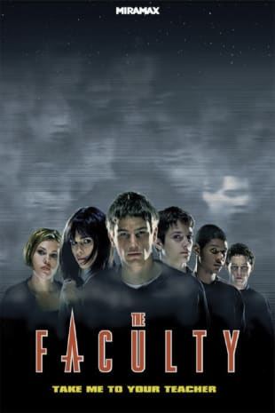 movie poster for The Faculty