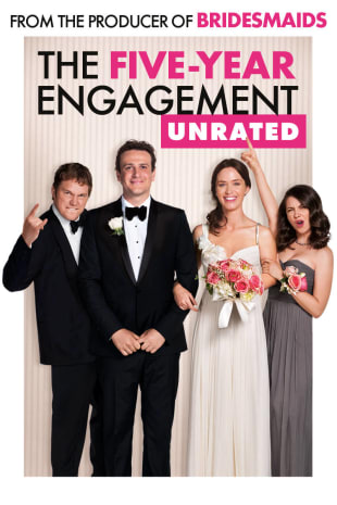 movie poster for The Five-Year Engagement (Unrated)