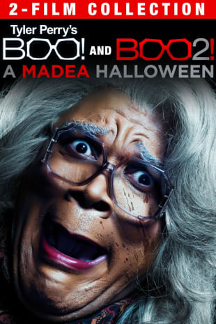 movie poster for Tyler Perry's Boo! Double Feature