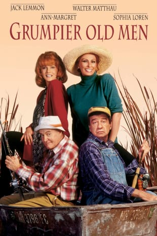 movie poster for Grumpier Old Men