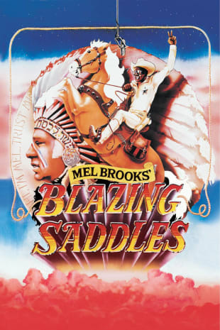 movie poster for Blazing Saddles (1974)