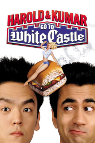 movie poster for Harold & Kumar Go To White Castle