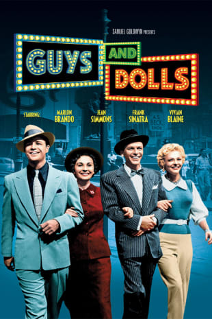 movie poster for Guys And Dolls