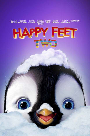 movie poster for Happy Feet 2