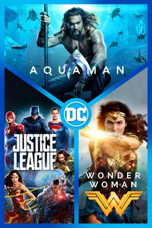 movie poster for Aquaman / Justice League / Wonder Woman 3-Film Bundle