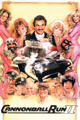 movie poster for Cannonball Run II