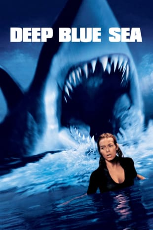 movie poster for Deep Blue Sea