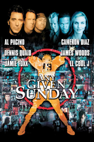 movie poster for Any Given Sunday