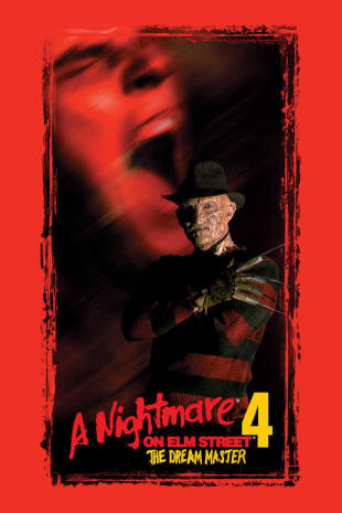 movie poster for A Nightmare On Elm Street 4: The Dream Master