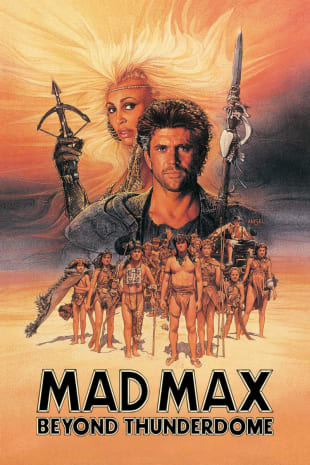 movie poster for Mad Max Beyond Thunderdome