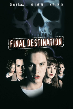 movie poster for Final Destination