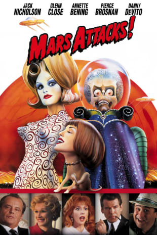 movie poster for Mars Attacks!